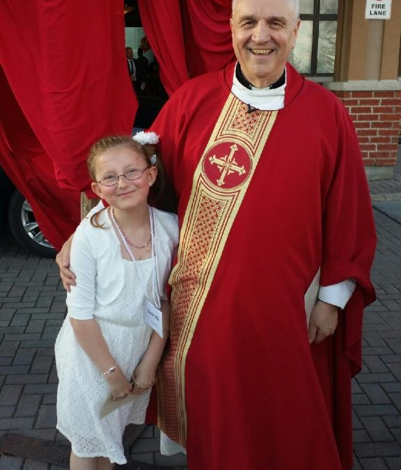 Eight Children Fully Initiated into the Church