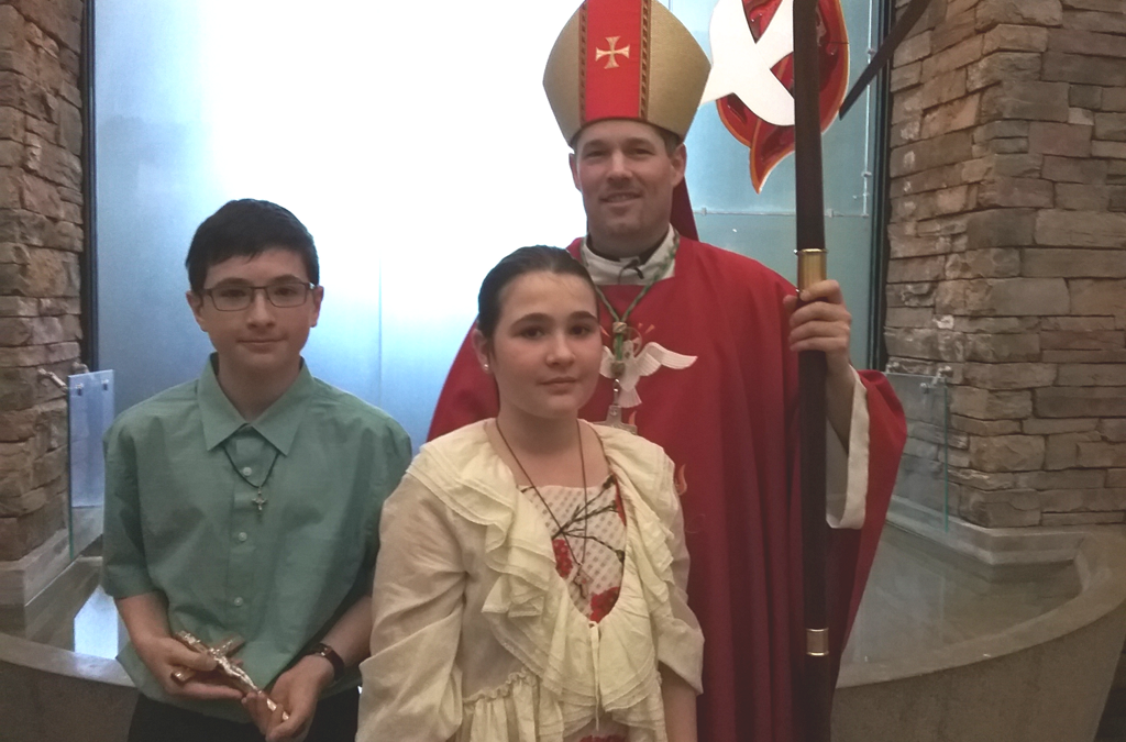 Confirmation at Holy Spirit Parish