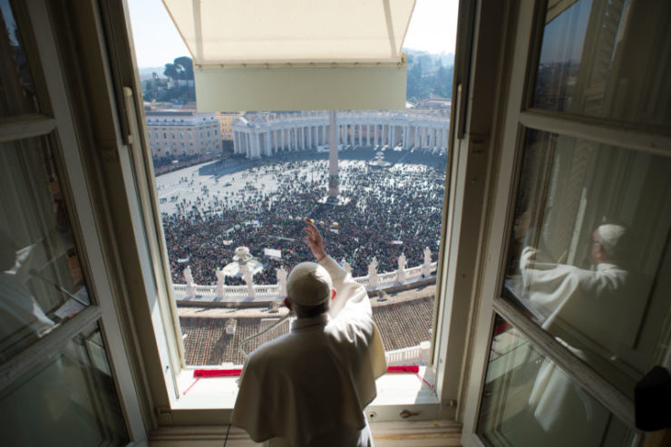 Angelus Address: On the Feast of the Most Holy Trinity