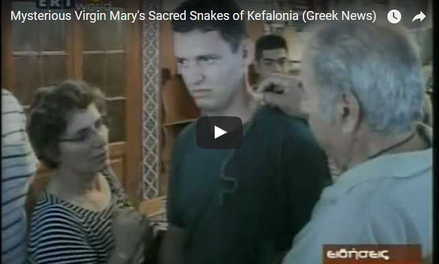 Holy Snakes! A Marian feast day's strange, stunning miracle