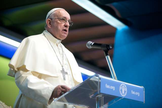 Hunger must be fought by actively going to the roots, Pope Francis says