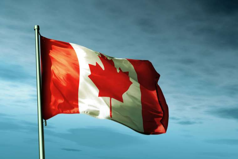 The flag of Canada. Credit: Jiri Flogel/Shutterstock.