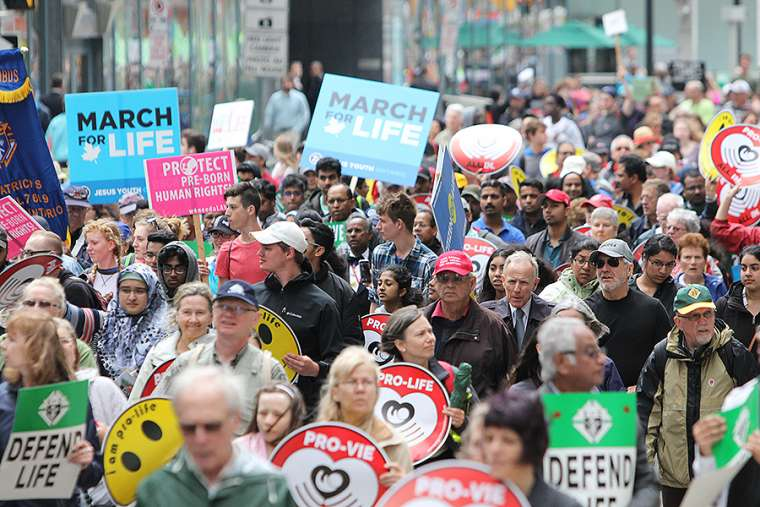 Photos: 15,000 Canadians march for life in Ottawa